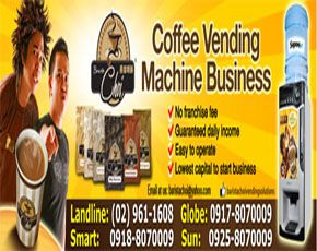 Amount Coffee Vending Machine/Coffee Vendo Machine  1 unit 1 12,000.00 12,000.00 Barista Choi Coffee Powder  1 kilo/pack 1 170.00 170.00  Barista Choi Choco Powder  1Kilo/pack 1 170.00 170.00  Barista Choi Caramel Powder  1 kilo/pack 1 170.00 170.00…
