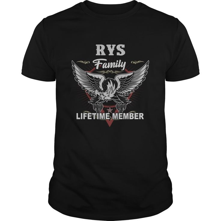 Get yours beautiful Rys Family Lifetime Member Shirt Gift Idea For Rys Shirts & Hoodies.  #gift, #idea, #photo, #image, #hoodie, #shirt, #christmas