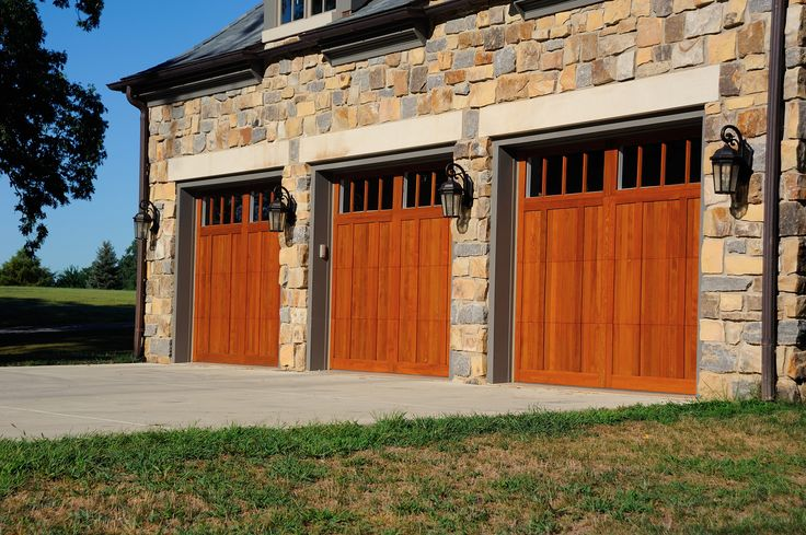 10 Best Images About Wood Carriage House Garage Doors On