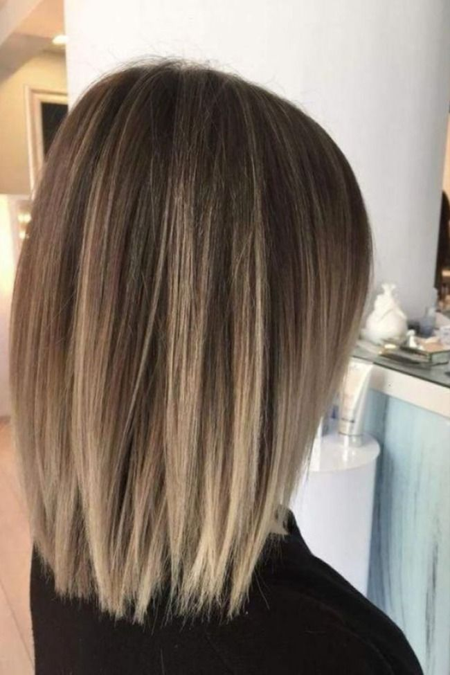 50 Chic And Trendy Straight Bob Haircuts And Colors To Look Special In 2020 Short Hair Balayage Thick Hair Styles Medium Hair Styles