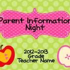 This 10 slide Back-to-School Power Point presentation is fully customizable.  You can add or delete slides to fit your needs.  The font used for th...