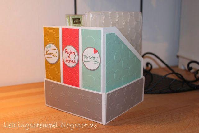 °°°Lieblingsstempel°°° kreativ mit Stempel und Papier und Stampin´Up!: Kleine Ordnungshelfer