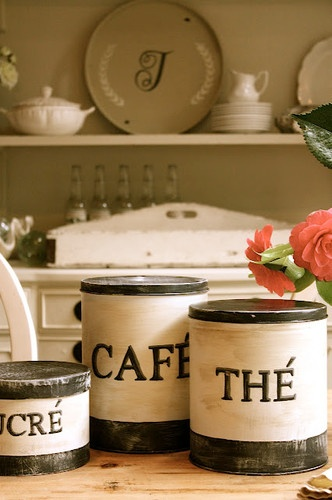 DIY French Country Canisters~
