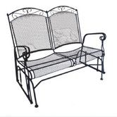 Charleston Wrought Iron Garden Bench by DC America Write the First Review $334.99 $640.46  48% Off Free Shipping. Found it at Wayfair - Charleston Wrought Iron Garden Bench