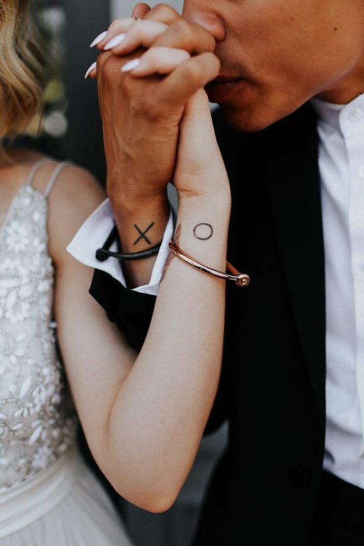 Tattoo ideas for married couples - 20 Beautiful Matching Tattoo Designs That Symbolise A Couples Loving Bond
