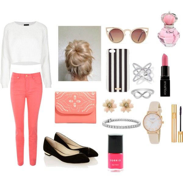 Aw warm and pink outfit