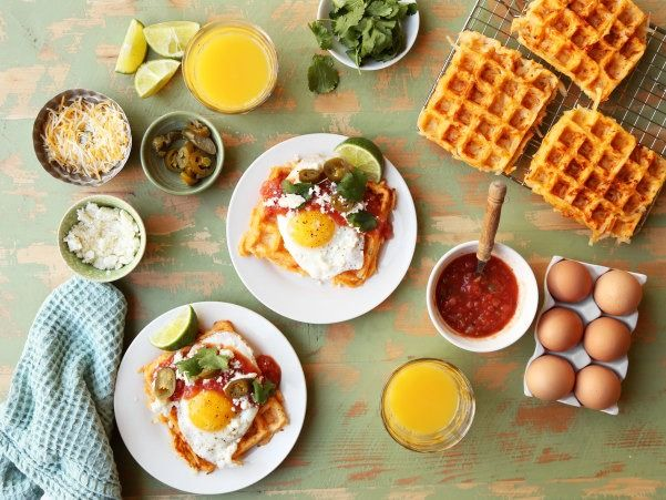 Kick up your waffle game with some Mexican flair.
