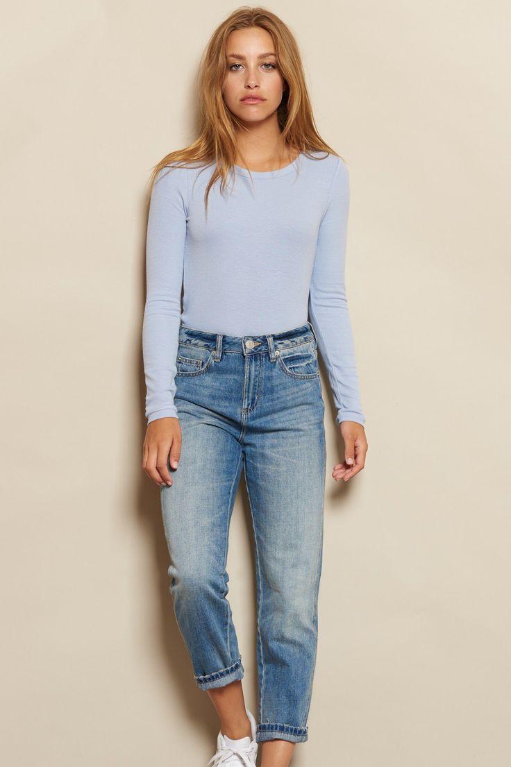 Kitsch Blue Mom Jean