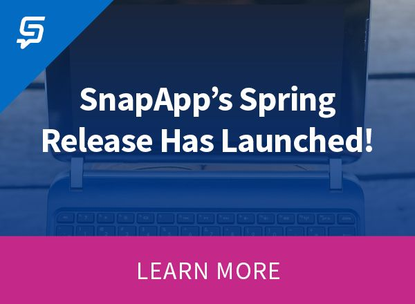Read About the New Features in the SnapApp Platform