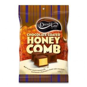 Darrell Lea Chocolate Coated Honeycomb 120g
