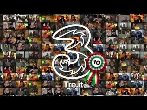 3/3/3-3/3/13: #10AnniDi3, con voi e 9,5 milioni di clienti... Grazie, brindiamo insieme! #Auguri3
