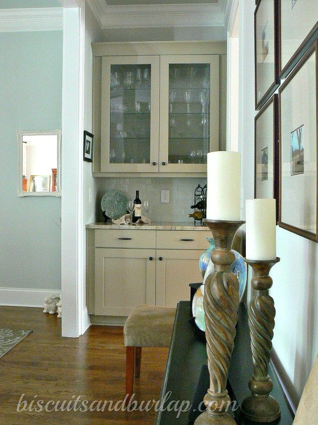 southern home dining room tour butlers pantry