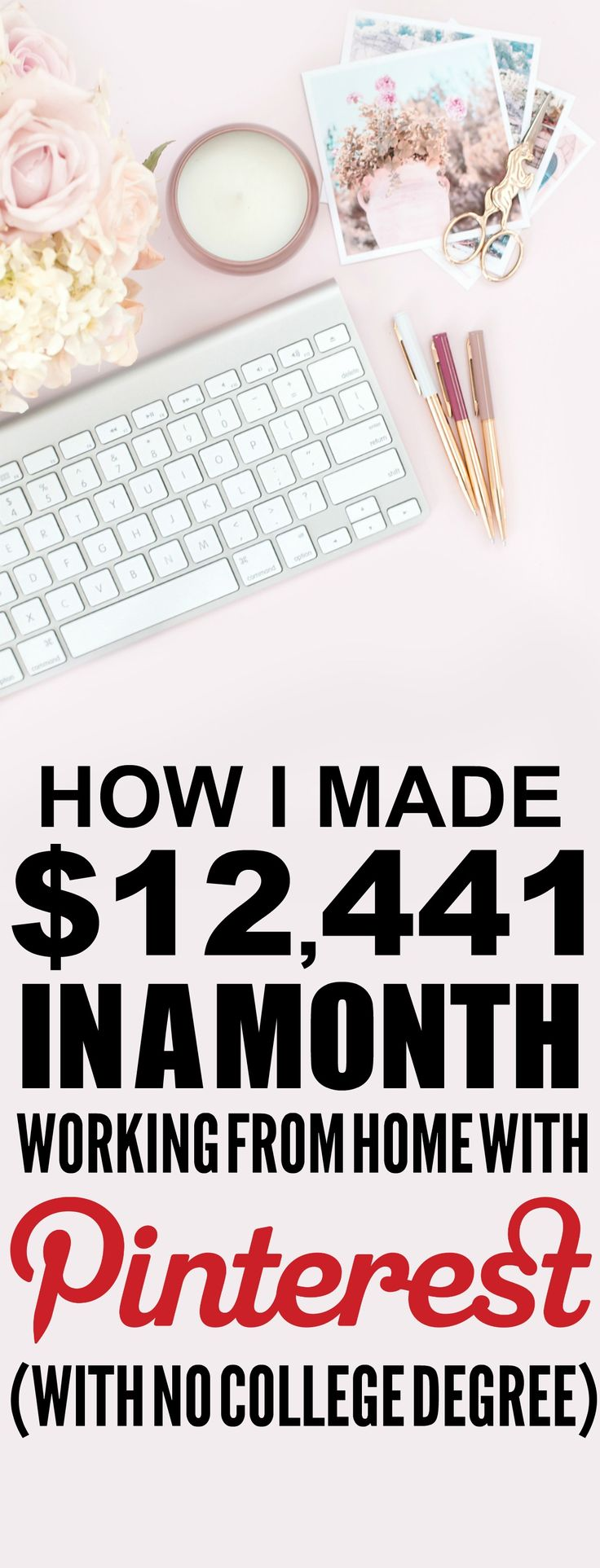 How she made $12,441 online last month is SO COOL! I'm so happy I found these GREAT tips! Now I have a great way to make money online and work from home! I never thought about how to blog before. Definitely pinning!