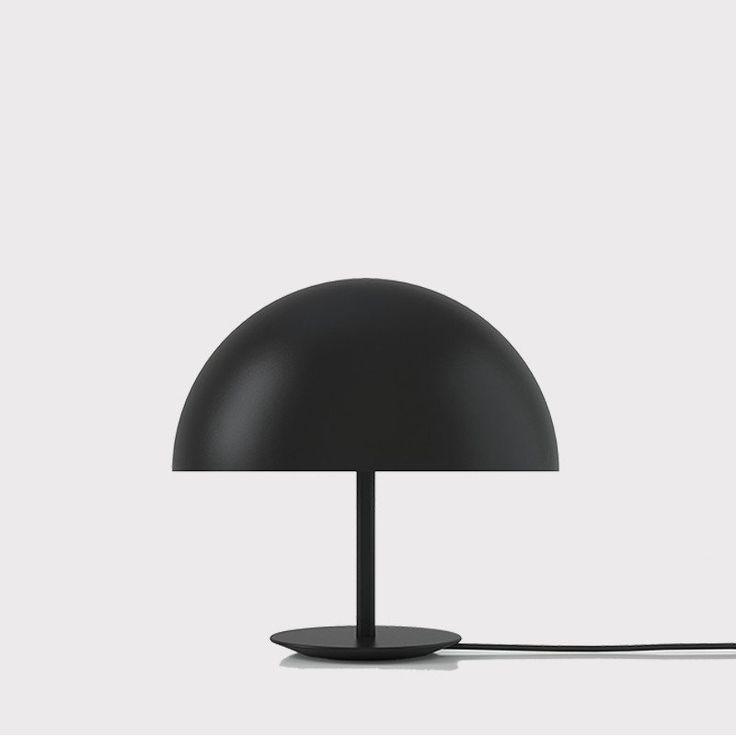 Dome Lamp   Black