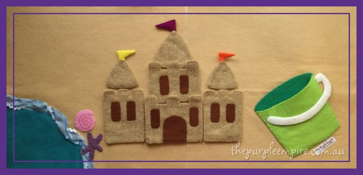 Seven sandcastle pieces come packed into their own bucket, able to be arranged in any combination your little one's imagination can devise....