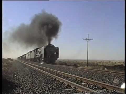 South African Steam: 25NC 3467 Kimberley De Aar June 1996