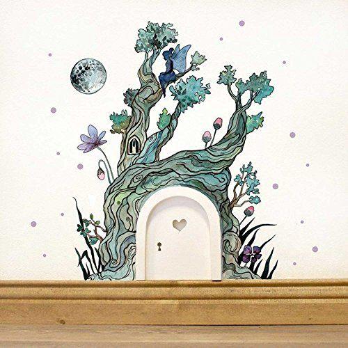 Die besten 17 ideen zu wandtattoo welt auf pinterest - Baum an die wand malen ...