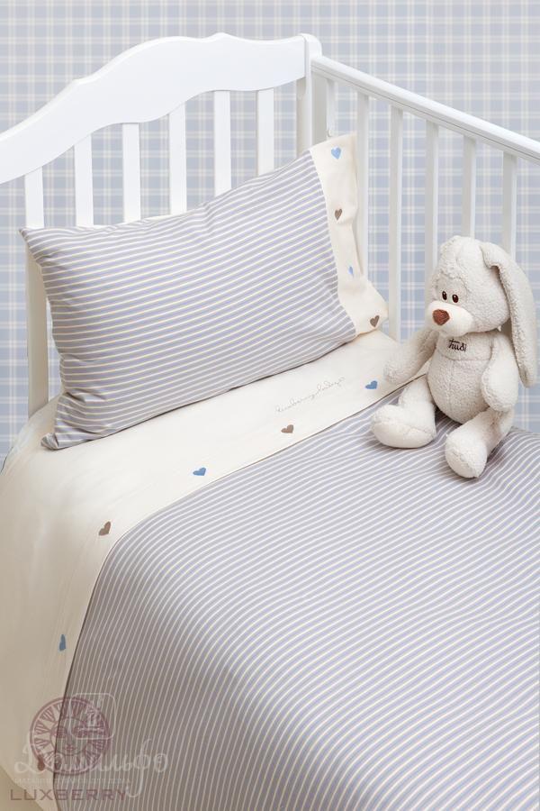 +7(495)960-90-70. Постельное белье для малышей ТРИКОТАЖ от производителя Luxberry (Португалия)
