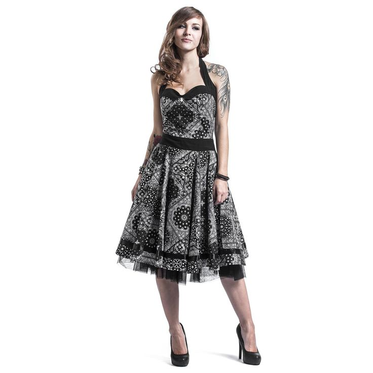 "Abito ""Alisa Dress"" del brand #Rockabella."