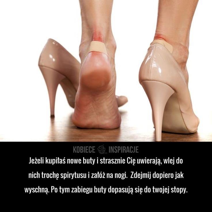Sposób na uwierające nowe buty!