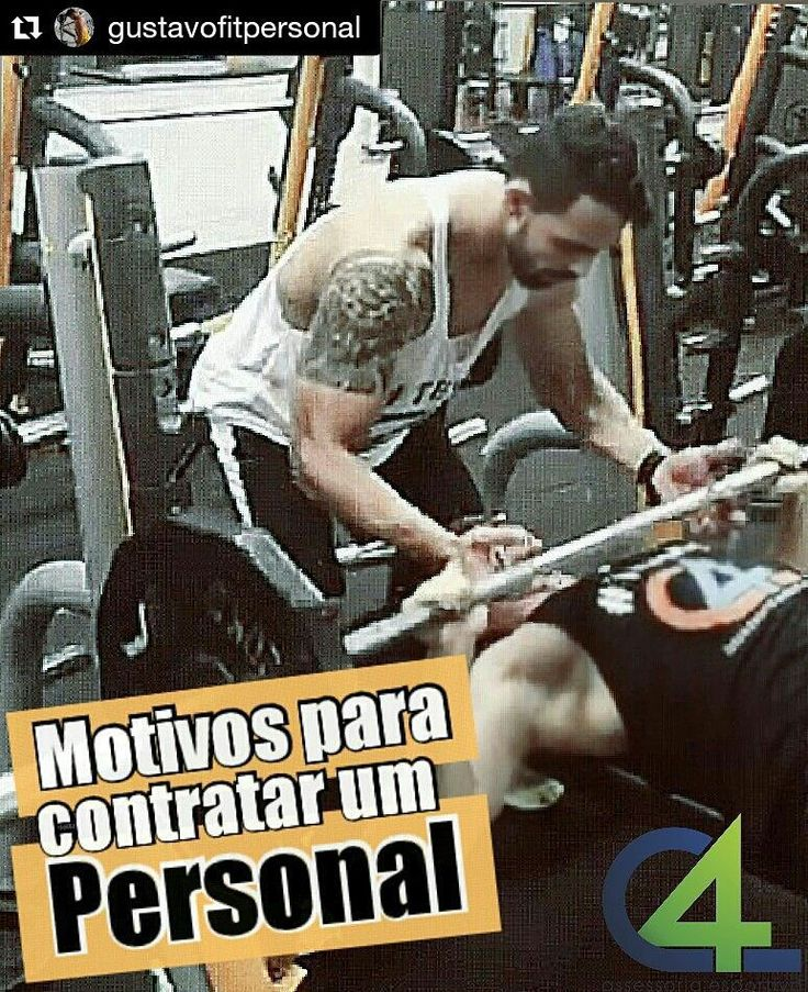 #Repost @gustavofitpersonal with @repostapp  A importância de um Personal Trainer em um programa de Treinamento. ---------------------------------  O atendimento individualizado do personal training é um efetivo método para mudança de atitudes contribuindo para o aumento na quantidade de atividade física praticada (McClaran 2003). --------------------------------- A supervisão direta aumenta a aderência ao programa de exercício físico (Coutts et al. 2004) --------------------------------- A…