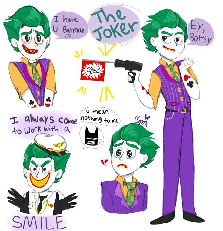 Lego Joker by SketchBird5.deviantart.com on @DeviantArt