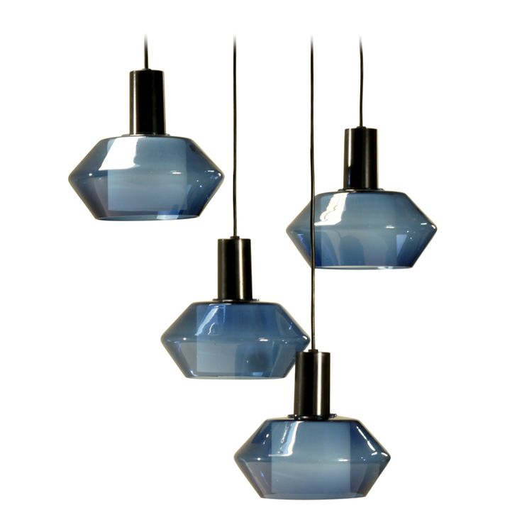 Blue Old Stock K2-140 Wirkkala Lamps, Large Quantity Available | From a unique…