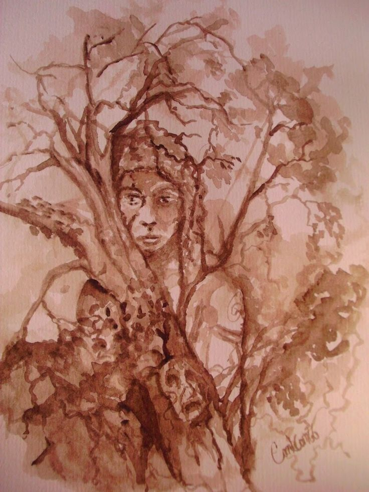 Robert Holdstock: Mythago wood | Ryhope Wood by carlcom66 | #book #robertholdstock #wood #mythago #fanart Pinned from