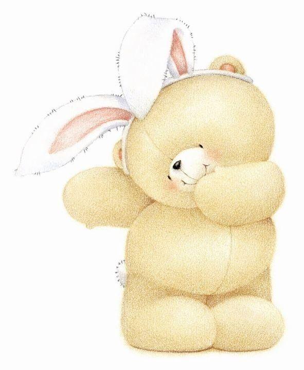 мишка с зайцем картинка вектор правильная колодка