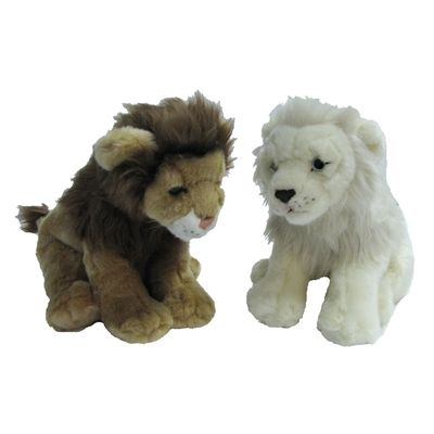 Jungle king lion plush toy