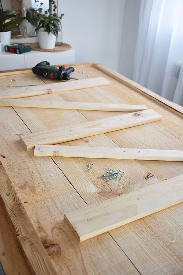 Cómo hacer una mesa de comedor rústica | mesa comedor ...