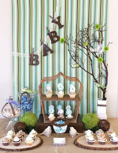 Boy Baby Shower Nature Theme