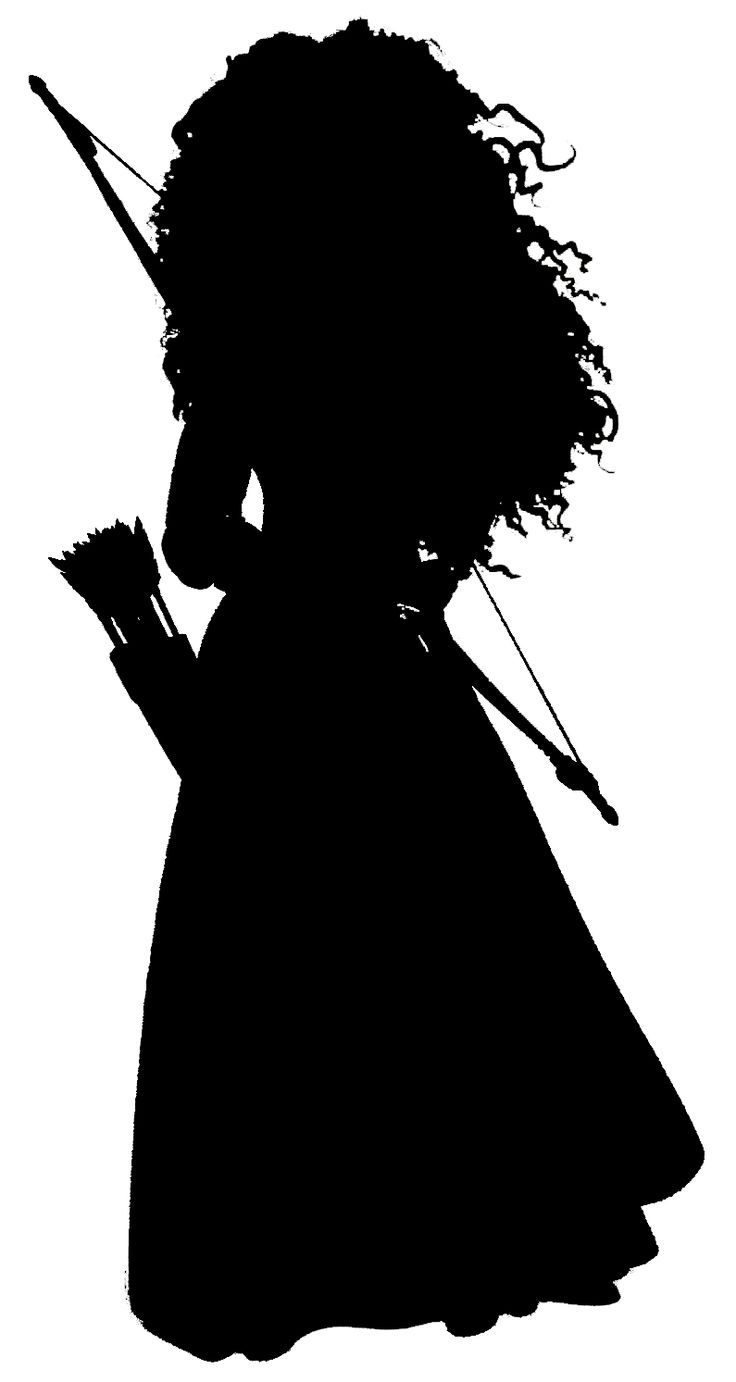 Merida Silhouette... the silhouette is there, you just have to click the picture twice to see it clearly.