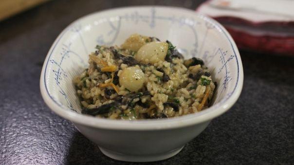 Eén - Dagelijkse kost - risotto met boschampignons