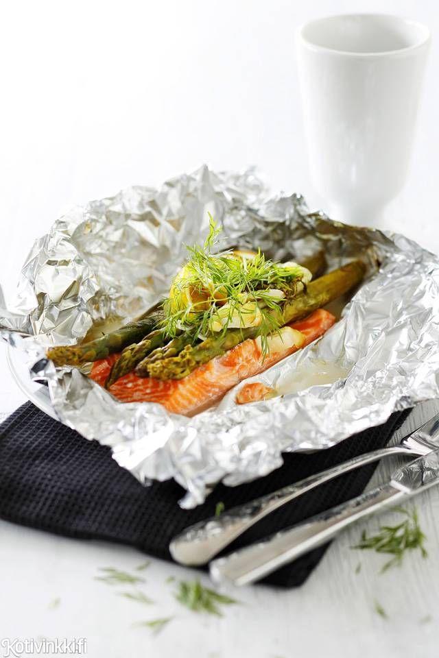 Lohifilee ja parsa uunissa | Kotivinkki