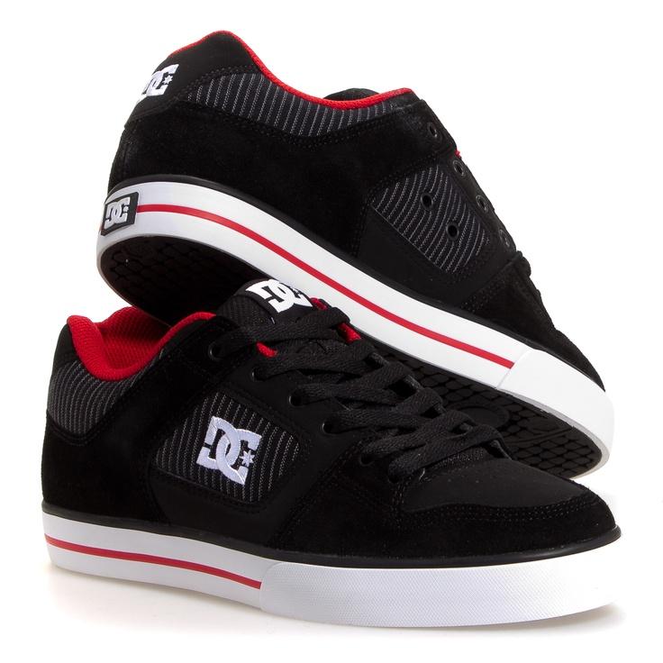 Dc Shoes Pure Xe Men's Skate Shoes: Black 7
