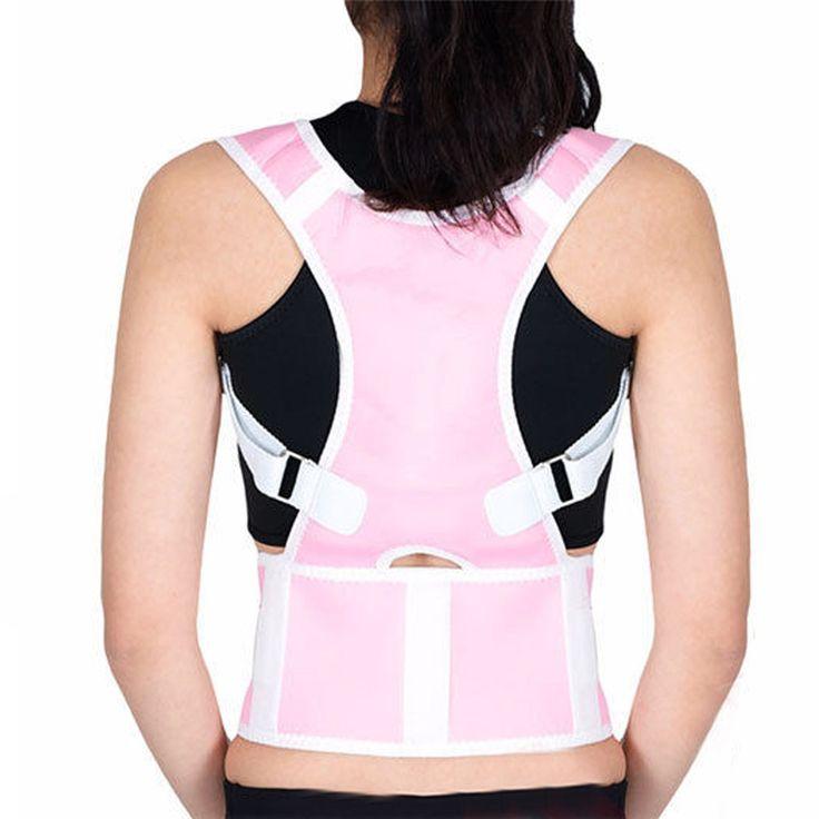 High Quality Shoulder Back Brace Support Adjustable Brace Band Belt Back Support High Elastic Fabric Back Posture Corrector
