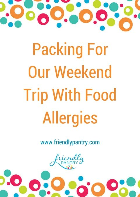 This blog covers packing for a food allergy kid.  Check out one of my favourite EpiPen carriers and a food allergy travel checklist printable. www.friendlypantry.com