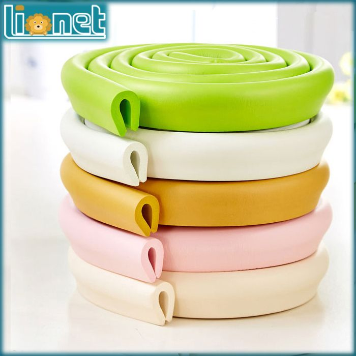 Anti-crash 2M U Shape Kids Protector Safety Product Children Protector Strip Baby Table Desk Security Cushion Protection Strip