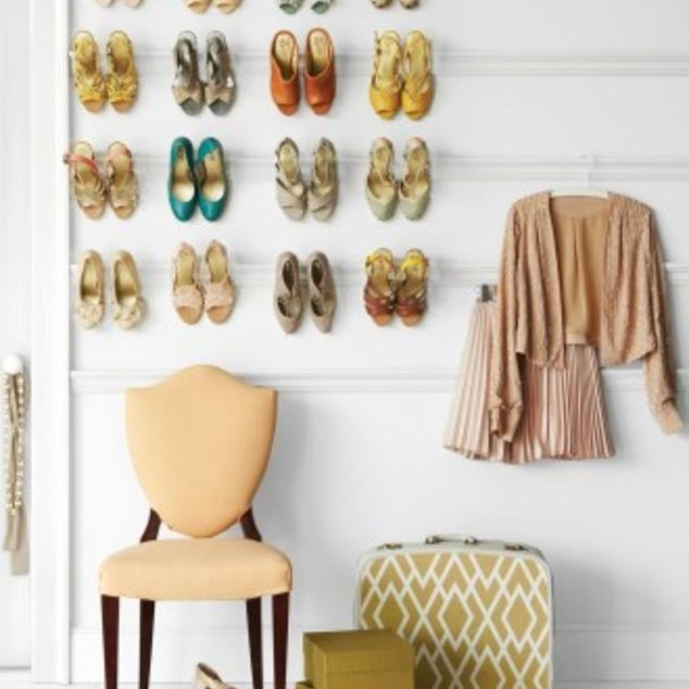 experience with wall mounted shoe rack