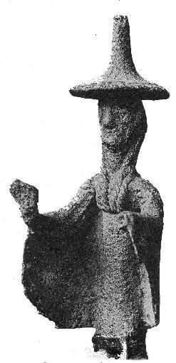 Druido nuragico - Sardegna (Teti) età del bronzo