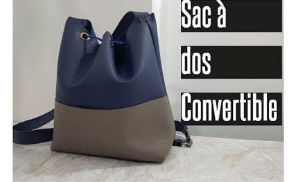 COUDRE UN SAC A DOS CONVERTIBLE EN SAC A MAIN - Partout A Tiss - Blog de couture…