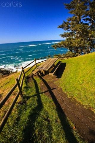 Along The Coast Of The Pacific Ocean At Cape Arago State Park © Craig Tuttle/Design Pics/Corbis
