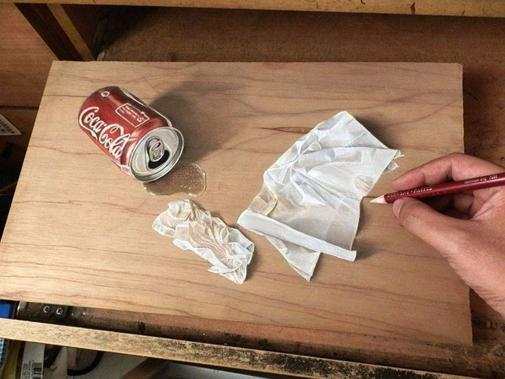Spilt Coke can