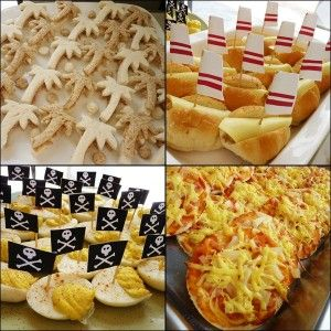 Jake and the Neverland Pirates Party food