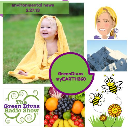 Green Divas myEARTH360 Report: Environmental News  ~ week of 2.24.14 ~ toxic yellow, greener future olympics and much more!