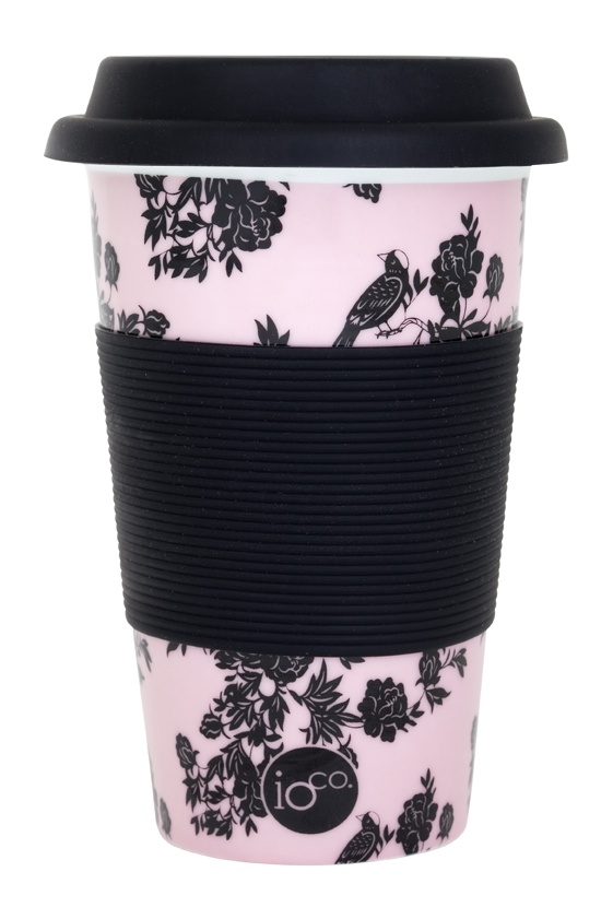 pink patricia... pastel pink floral... ioco coffee and tea traveller     shop now www.ioco.com.au