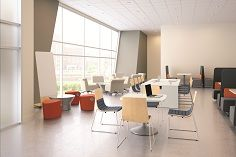 Multifunctional workspace, ideal for group projects or individual study http://www.bistaples.ca/en/how-we-work/17-go2-book