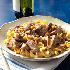 Slow Cooker Beef Stroganoff XIII Recipe