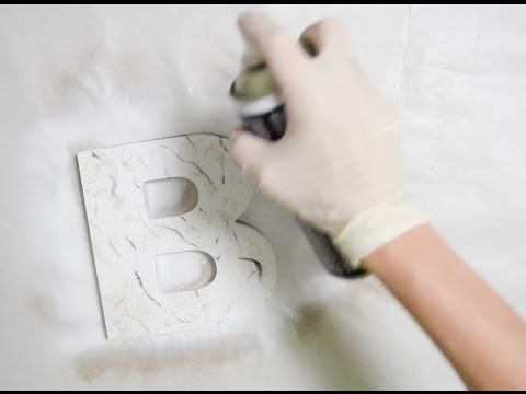 (6) Marmoleado sin agua con Pintyplus Chalk spray paint PINTYPLUS - YouTube